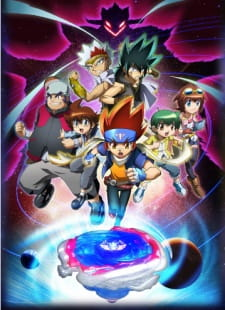 image of anime Beyblade Metal Fury