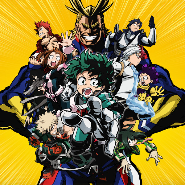 image of anime Boku no Hero Academia S2