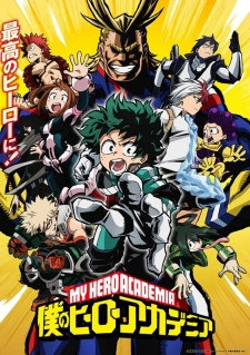 image of anime Boku no Hero Academia