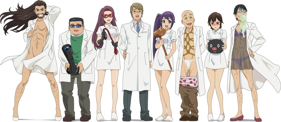 image of anime Comical Psychosomatic Medicine