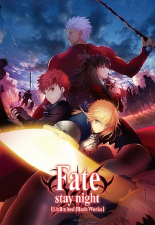 image of anime Fate Stay Night: Unlimited Blade Works