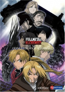 image of anime Fullmetal Alchemist The Movie: Conqueror of Shamballa
