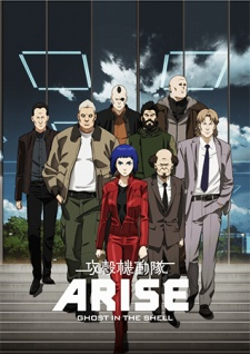 image of anime Ghost in the Shell: Arise