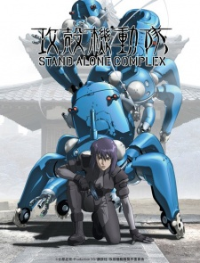 image of anime Ghost in the Shell: Stand Alone Complex