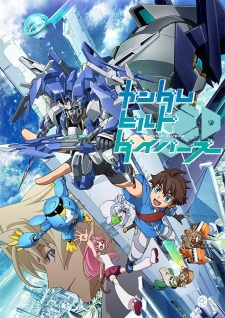 image of anime Gundam Build Divers