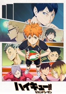 image of anime Haikyuu!! Second Season