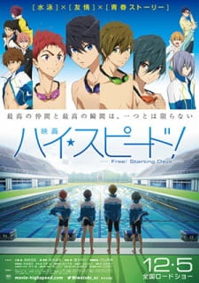 image of anime High Speed! Free! Starting Days