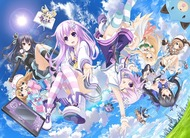 image of anime Hyperdimension Neptunia - The Animation