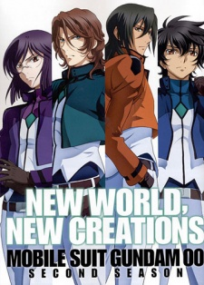 image of anime Kidou Senshi Gundam 00 2nd Season