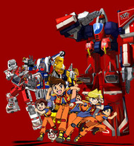 image of anime Machine Robo Rescue