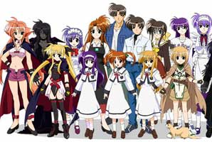 image of anime Mahou Shoujo Lyrical Nanoha ViVid