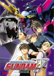 image of anime Mobile Suit Gundam Wing
