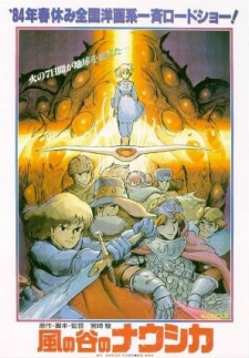 image of anime Nausicaa of the Valley of the Wind