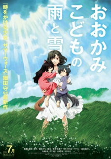 image of anime Ookami Kodomo no Ame to Yuki