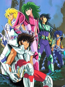 image of anime Saint Seiya