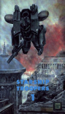 image of anime Starship Troopers