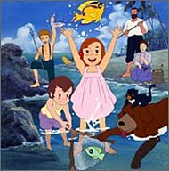 image of anime Swiss Family Robinson