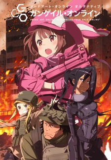 image of anime Sword Art Online Alternative - Gun Gale Online