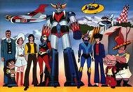image of anime UFO Robo Grendizer tai Great Mazinger